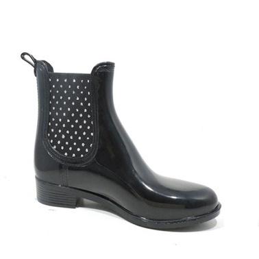 Akınal Bella Yağmur Çizmesi Siyah